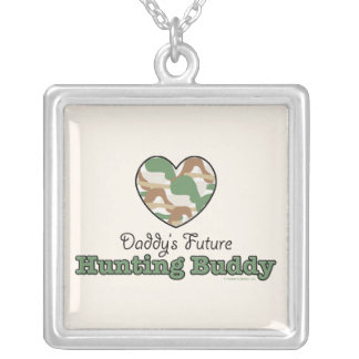 Daddy's Future Hunting Buddy Necklace