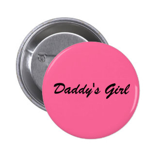 Daddy's Girl 6 Cm Round Badge