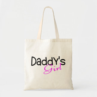 Daddys Girl Budget Tote Bag