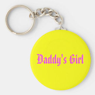 Daddy's Girl Key Ring