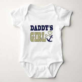 Daddy's Girl Nautical Baby Bodysuit
