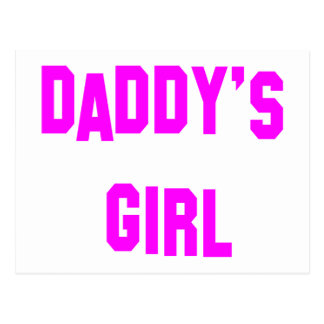 Daddy's Girl Postcards