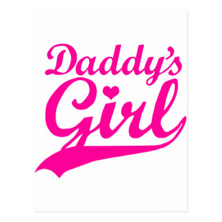 Daddy's Girl Postcard