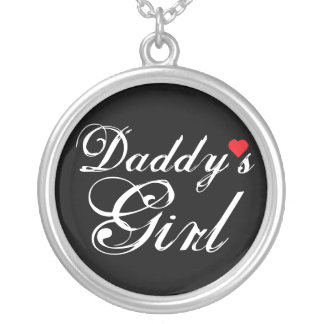 Daddy's Girl Silver Plated Necklace
