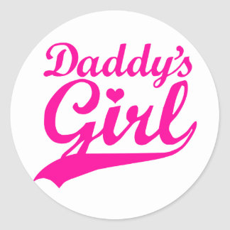 Daddy's Girl Stickers