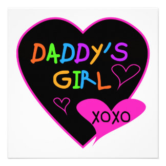 Daddy's Girl T Shirts, Mugs, Pillows, Stationary Invitations