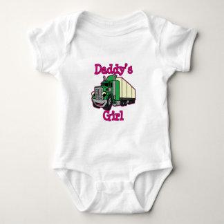 Daddy's Girl Truck Driver Baby Bodysuit