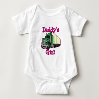 Daddy's Girl Truck Driver Tees