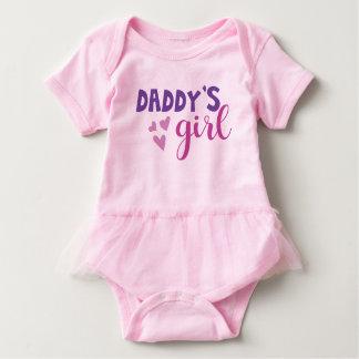 Daddys Girl Tutu Outfit Baby Bodysuit