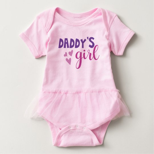 Daddys Girl Tutu Outfit Baby Bodysuit