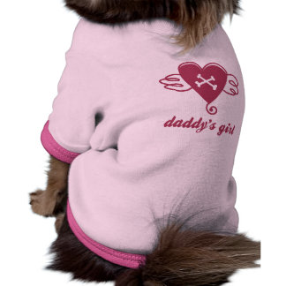daddy's girl wear pet clothing