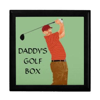 """DADDY'S GOLF GOX"" JEWELRY BOXES"