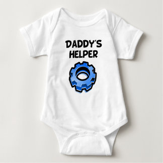 Daddy's Helper Gear Baby Bodysuit