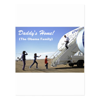 Daddy's Home Postcard