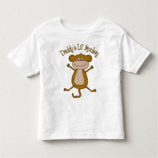 Daddys Lil Monkey Tshirt