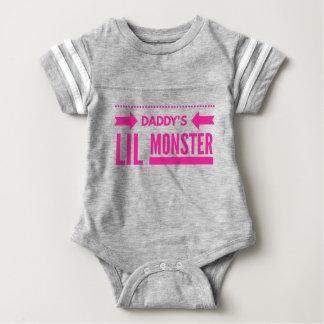 Daddy's Lil Monster Baby Bodysuit