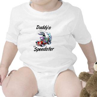 Daddy's Lil Speedster Baby Bodysuit