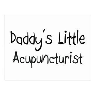 Daddy's Little Acupuncturist Postcard