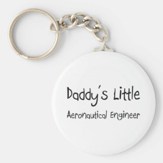 Daddy's Little Aeronautical Engineer Key Ring