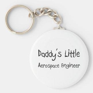 Daddy's Little Aerospace Engineer Key Chain