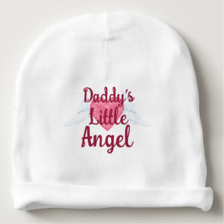 Daddy's Little Angel Baby Cotton Beanie Baby Beanie