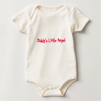Daddy's Little Angel Rompers