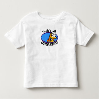 Daddy's Little Artist Tee Shirts