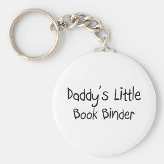 Daddy's Little Book Binder Keychains