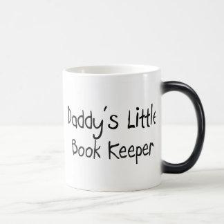 Daddy's Little Book Keeper Morphing Mug