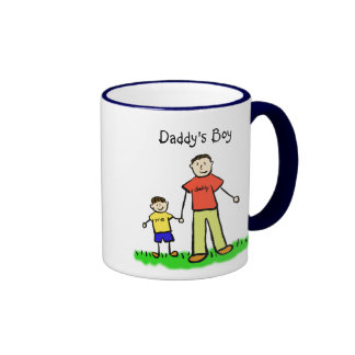 Daddy's Little Boy Mug (Brunette Customise)