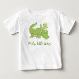 Daddy's Little Buddy (alligator) Baby T-Shirt
