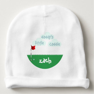 Daddy's Little Caddie Custom Baby Cotton Beanie Baby Beanie