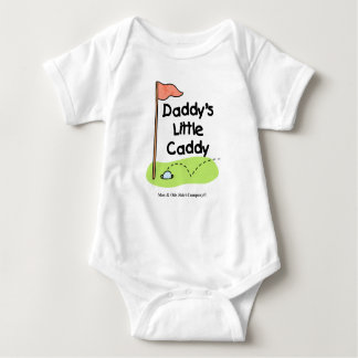 Daddy's Little Caddy Baby Bodysuit