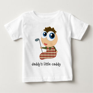Daddy's Little Caddy Kids Tee Shirt