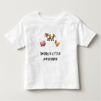 DADDY'S LITTLE CARNIVORE TODDLER T-Shirt