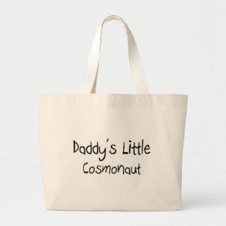 Daddy's Little Cosmonaut Canvas Bag