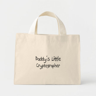 Daddy's Little Cryptographer Bag