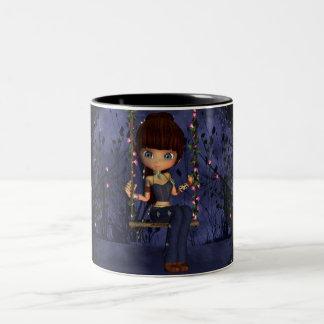 Daddy's little cutie Fantasy Cute Little Girl Mug