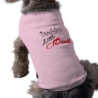 Daddy's Little Devil Doggie Tshirt