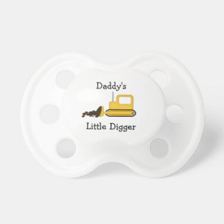 Daddy's Little Digger Pacifier