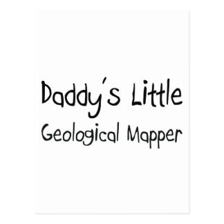 Daddy's Little Geological Mapper Post Cards