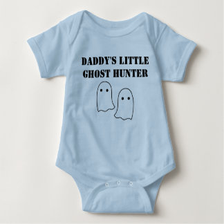 Daddy's Little Ghost Hunter Baby Bodysuit