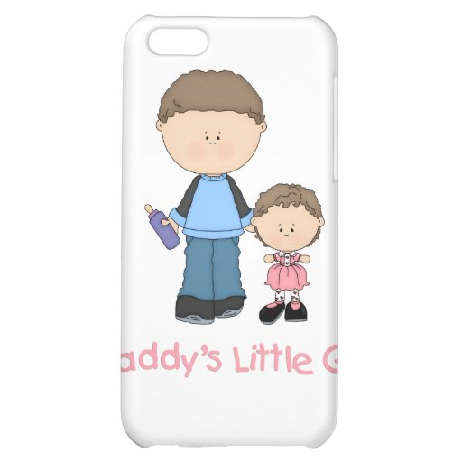 Daddy's Little Girl (2) Case For iPhone 5C