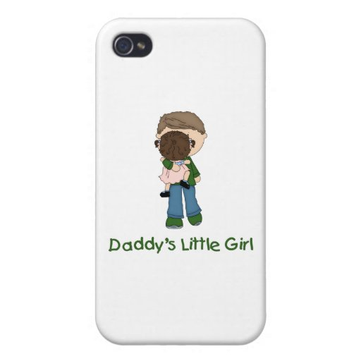 Daddy's Little Girl (3) iPhone 4/4S Cases