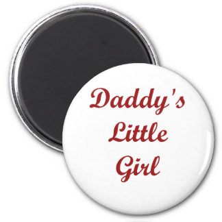 Daddy's Little Girl 6 Cm Round Magnet