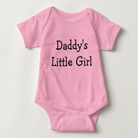 Daddy's Little Girl Baby Bodysuit
