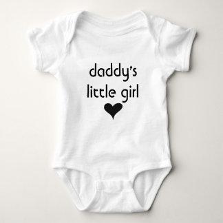 daddy's little girl baby bodysuit