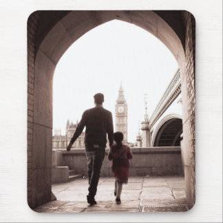 Daddy's Little Girl - Big Ben - London - Mousepad Mouse Pad