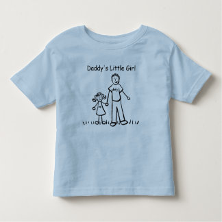 Daddy's Little Girl Drawing T-shirt (Customize)