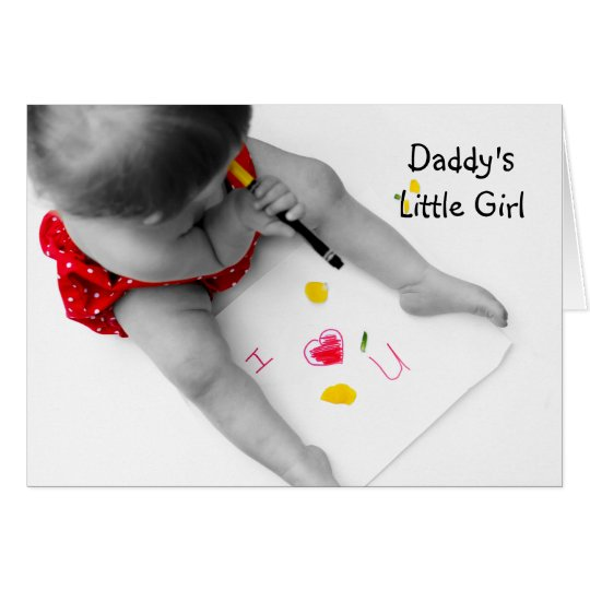 Daddy's Little Girl I Love You Dad With